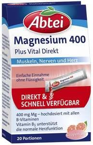 Abtei              Magnesium 400 + Vitamin B Komplex