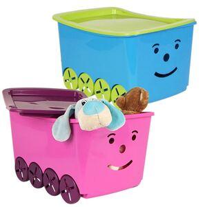 Smiley Spielzeugkiste