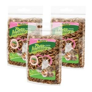 MultiFit nature snacks Eiweiß-Mix 3x10g
