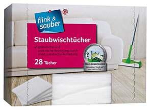 flink & sauber              Staubwischtücher