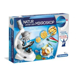 Galileo Natur unter dem Mikroskop Clementoni