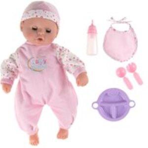 SMIKI Babypuppe mit Zubehör 43cm (27527)