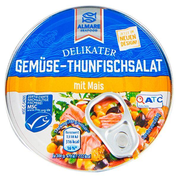 ALMARE Gemüse-Thunfischsalat 280 g