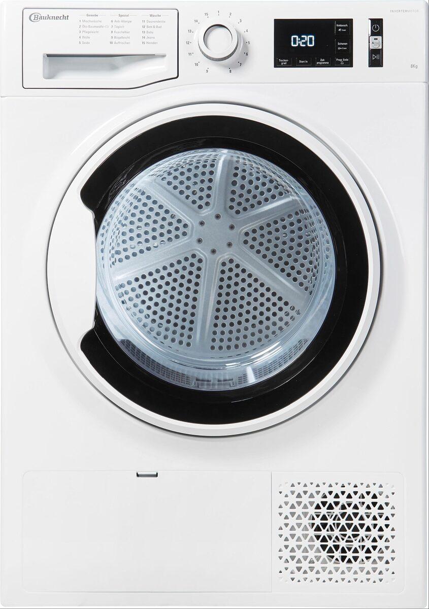 Bild 3 von BAUKNECHT Wärmepumpentrockner T SENSE M11 8X3WK DE, 8 kg