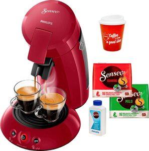 Senseo Kaffeepadmaschine HD6554/90 New Original, inkl. Gratis-Zugaben im Wert von 21,99 UVP