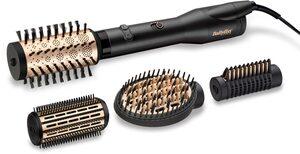 BaByliss Warmluftbürste AS970E, Big Hair Luxe rotierende Warmluftbürste Premium