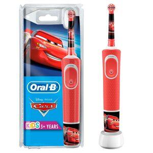 Oral B Elektrische Kinderzahnbürste Cars, Aufsteckbürsten: 1 St.
