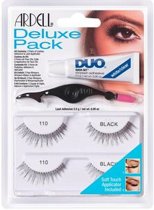 ARDELL Bandwimpern »Deluxe Pack 110«, inkl. DUO Wimpernkleber und Applikator