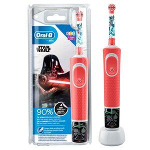 Oral B Elektrische Kinderzahnbürste Kids Star Wars, Aufsteckbürsten: 1 St.