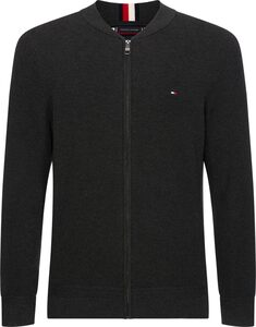 TOMMY HILFIGER Strickjacke »RICECORN BASEBALL ZIP THROUGH«