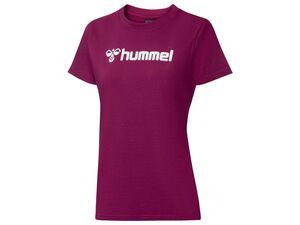 Hummel T-Shirt Damen, Regular Fit, mit Baumwolle