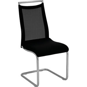 Venjakob Stuhl schwarz, edelstahlfarben , GO On , Metall , 46x99x62 cm , matt, vernickelt, galvanisiert,matt, vernickelt, galvanisiert , Lederauswahl, Stoffauswahl , 001510025621