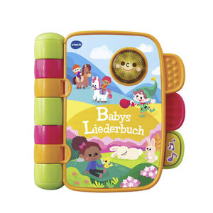 V Tech Babys liederbuch , 80-138364 , Multicolor , Kunststoff , 20.3x21.6x5.2 cm , Musik , 005707014801