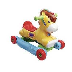 V Tech Rutschfahrzeug / schaukelpferd tierspaß , 80-191404 , Multicolor , Kunststoff , 55x40.6x20 cm , Musikeffekte , 005707015001