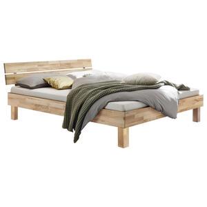 Hasena Bett kernbuche massiv , Prato , Buchefarben , Holz , 160x200 cm , geölt,Echtholz , in verschiedenen Holzarten erhältlich, in verschiedenen Größen erhältlich,in verschiedenen Holzarten erh