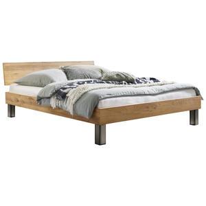 Hasena Bett wildeiche massiv , Lodi , Eichefarben , Holz , 160x200 cm , geölt,Echtholz , in verschiedenen Holzarten erhältlich, in verschiedenen Größen erhältlich,in verschiedenen Holzarten erh