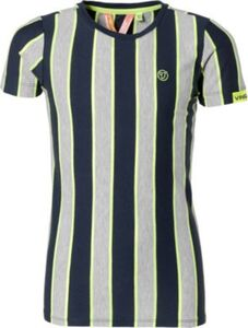 T-Shirt HANJO  blau/grau Gr. 176 Jungen Kinder