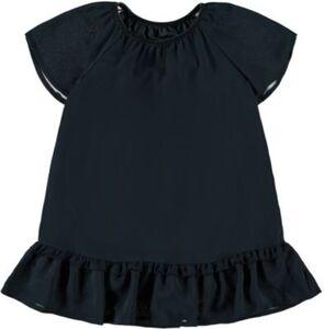 Kinder Kurzarmbluse NMFRITAKA dunkelblau Gr. 92 Mädchen Kleinkinder