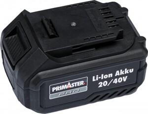 Primaster Pro 20/40 V Li-Ion Akku ,  5,0 Ah/ 2,5 Ah