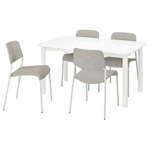 STRANDTORP / UDMUND Tisch und 4 Stühle