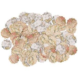 Paper Poetry Tischkonfetti Landkarte 150 Stück