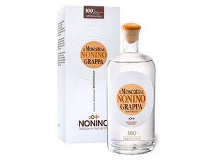 Nonino Grappa Monovitigno il Moscato mit Geschenkbox 41% Vol