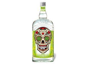 Burning Devil Tequila Liqueur mit Zitrone 20% Vol