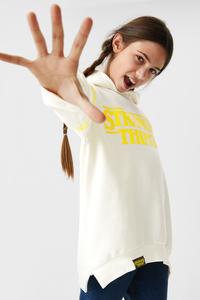 C&A Stranger Things-Sweatshirt, Weiß, Größe: 152 M