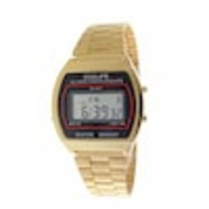 Coolife Produkte Schöne Digitaluhr mit ovalem Display in der Farbe gold Uhr 1.0 st