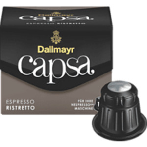 DALLMAYR Capsa Espresso Ristretto Kaffeekapseln (Nespresso)