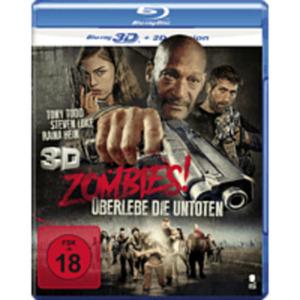 Zombies! - Überlebe die Untoten 3D Blu-ray