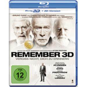 Remember 3D Blu-ray (+2D)