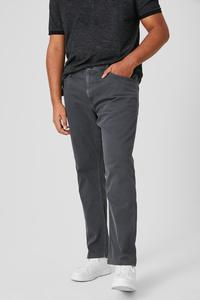 C&A Hose-Slim Fit, Schwarz, Größe: 50/32