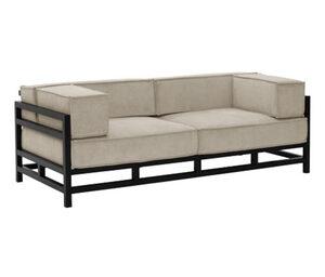 Max Winzer®-Designersofa »Lukas« , 3-Sitzer, beige