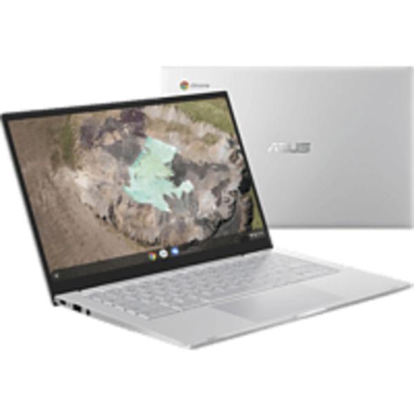 ASUS C425TA-H50081, Chromebook mit 14 Zoll Display, Core™ m3 Prozessor, 8 GB RAM, 64 eMMC, Intel® HD Grafik 615, Silver