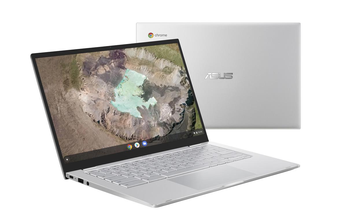 Bild 2 von ASUS C425TA-H50081, Chromebook mit 14 Zoll Display, Core™ m3 Prozessor, 8 GB RAM, 64 eMMC, Intel® HD Grafik 615, Silver