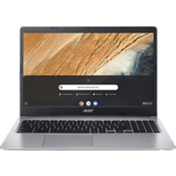 ACER Chromebook 15 (CB315-3HT-C47Q), mit 15,6 Zoll Display Touchscreen, Celeron® Prozessor, 4 GB RAM, 64 eMMC, Intel® UHD-Grafik 600, Silber