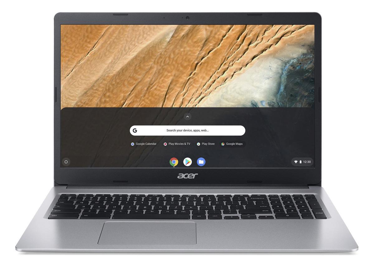 Bild 2 von ACER Chromebook 15 (CB315-3HT-C47Q), mit 15,6 Zoll Display Touchscreen, Celeron® Prozessor, 4 GB RAM, 64 eMMC, Intel® UHD-Grafik 600, Silber