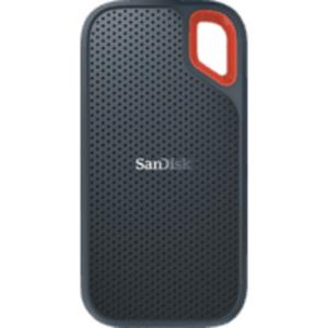 SANDISK Extreme® Portable SSD 500 GB, GB SSD, 2,5 Zoll, extern, Grau