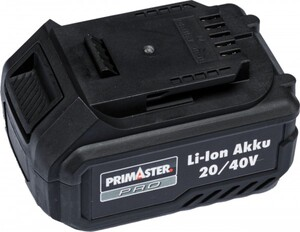 Primaster Pro 20/40 V Li-Ion Akku 5,0 Ah/ 2,5 Ah