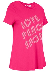 Sport-Shirt aus Bio-Baumwolle, halbarm