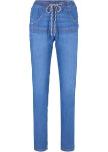 Jeans mit Kangaroo-Tasche und Bequembund