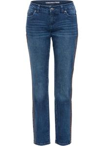 Boyfriend Jeans mit seitlichem Streifen