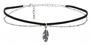 Choker - Black Feather