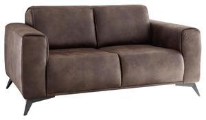 Zweisitzer-Sofa in Braun 'Pueblo'