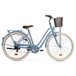 City Bike 28 Zoll Elops 520 LF Damen hellblau