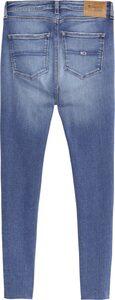 TOMMY JEANS Skinny-fit-Jeans »SYLVIA HR SPR SKNY ANKLE« mit Faded-out Effekten & Tommy Jeans Logo-Badge