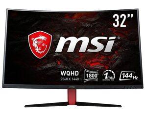 MSI Optix AG32CQ-8015 Gaming-Monitor (2560 x 1440 Pixel, WQHD, 1 ms Reaktionszeit, 144 Hz)