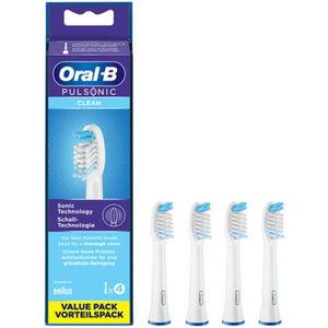 """Oral-B Aufsteckbürsten """"Pulsonic Clean"""", für Schallzahnbürsten, 4er-Pack"""