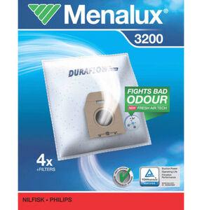 Menalux Staubbeutel 3200 für Philips und weitere